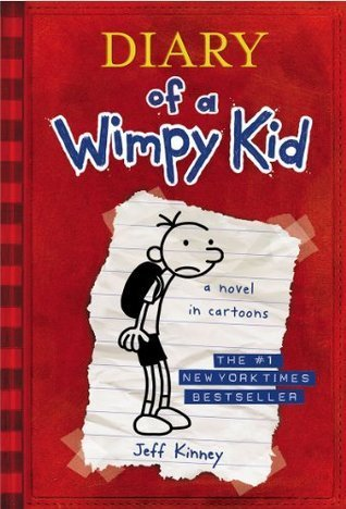 Diary of  Wimpy Kid #1 by Jeff Kinney, a review