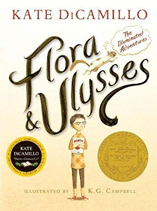 Flora and Ulysses by Kate DiCamillo, a review